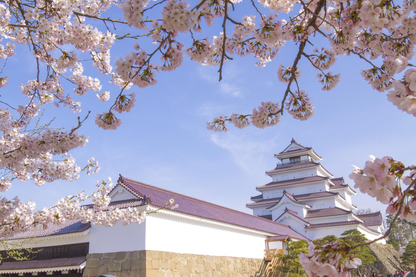 Tsurugajo Castle Park