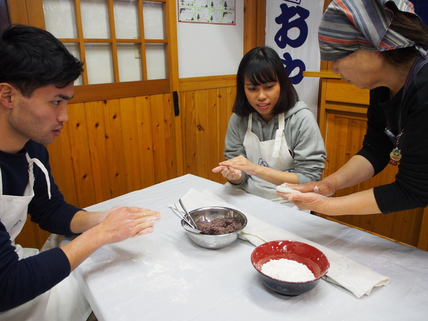 Oyaki mura Nagano Bunson Daimon
