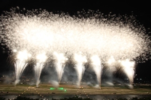 Fireworks in Isawa-Onsen