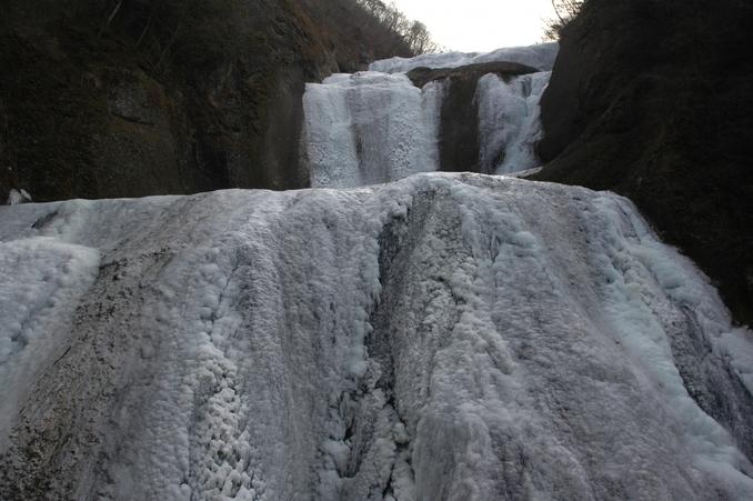袋田の滝冬
