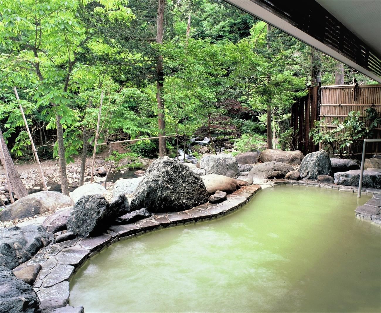 秘湯の湯 元泉館