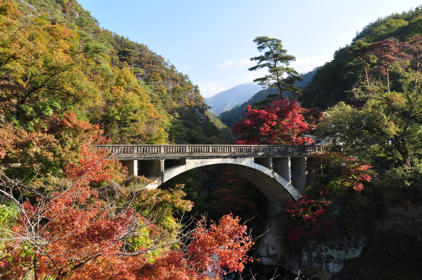 Shosenkyo Nagatoro Bridge