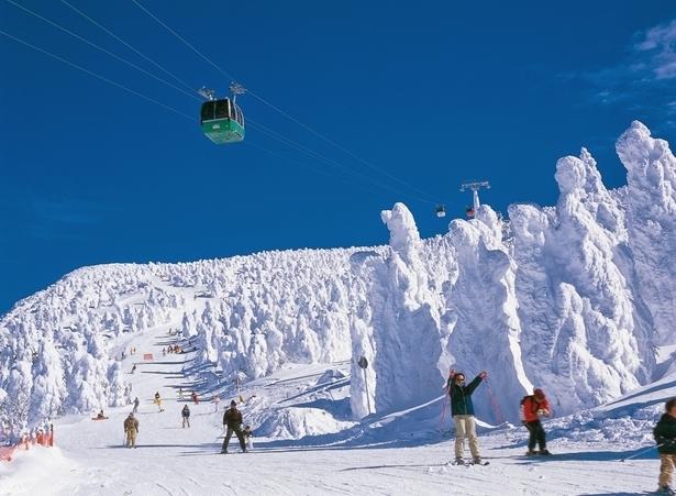 Zao Ski Slope