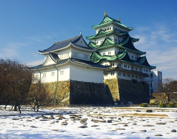 Nagoya Castle in winter