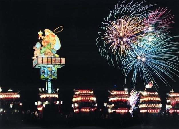Iidamachi Lantern Yama Festival