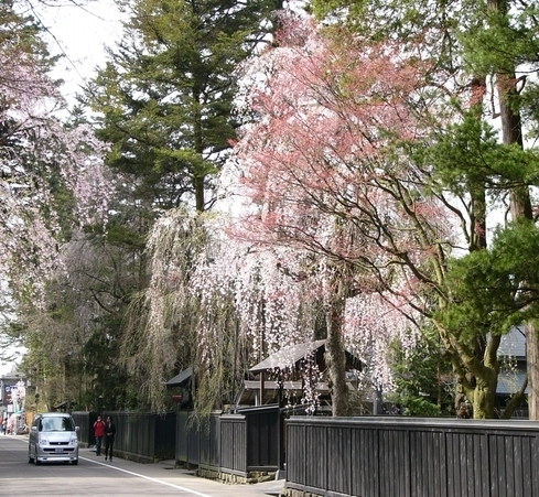 Kakunodate Bukeyshiki Street