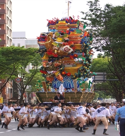 Hakata Gion Yamagasa Festival