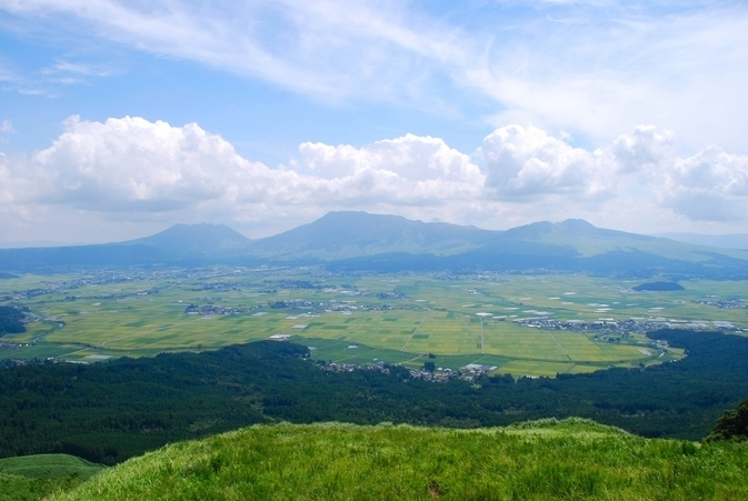 Mt.Aso From Daikanbo