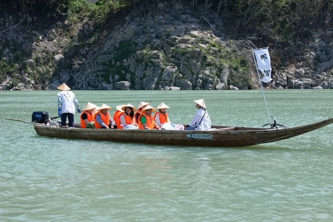 Kumano-gawa River Traditional Boat Tour