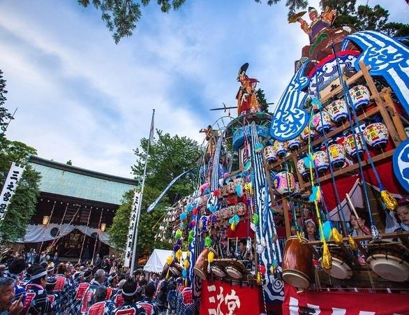 Sannomiya-Hibita Shrine Spring Festival