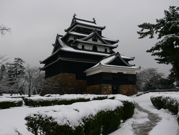 Matsue Castle(Winter)