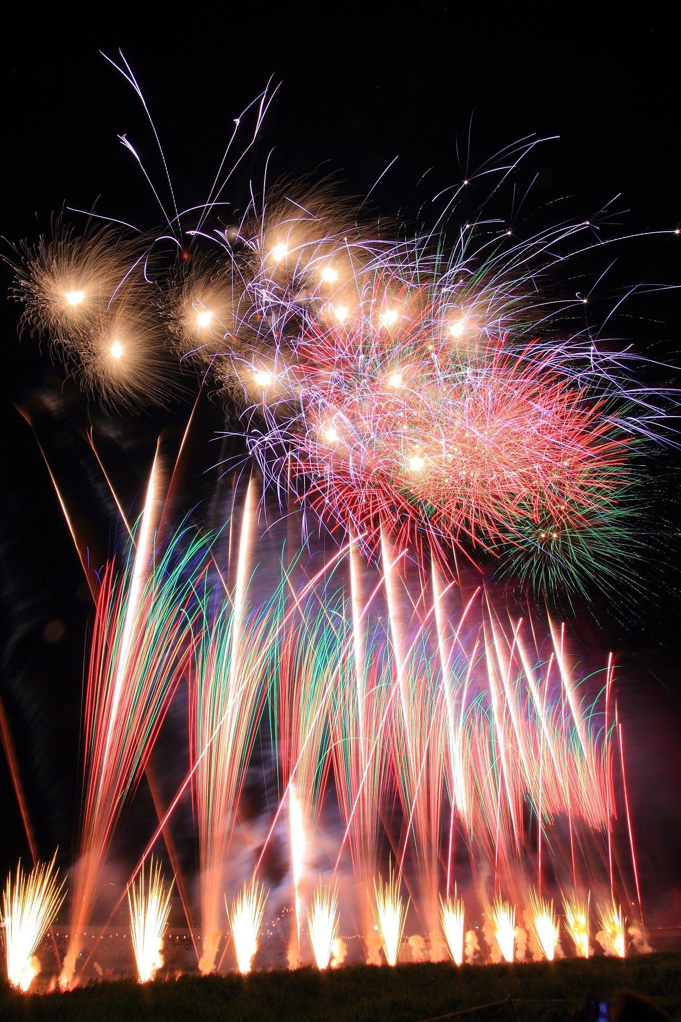 Isawaonsen Fireworks Festival