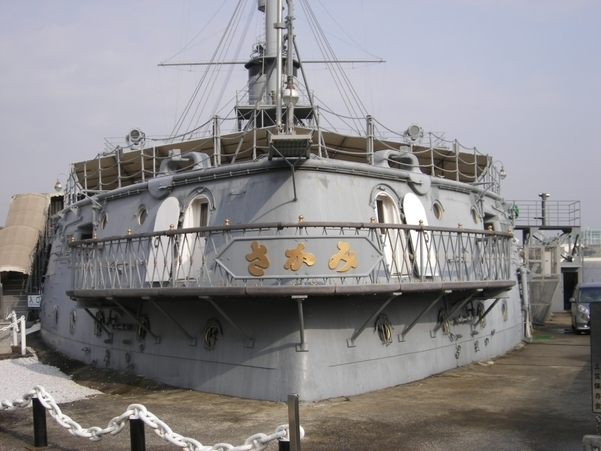The memorial ship MIKASA