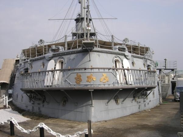 The memorial ship MIKASA